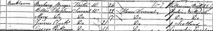 1851 census entry