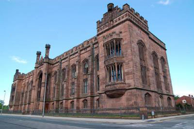 Collegiate Institute, Shaw Street, Liverpool