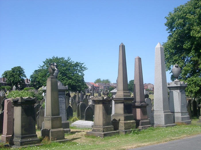 General view of Smithdown Road cemetery