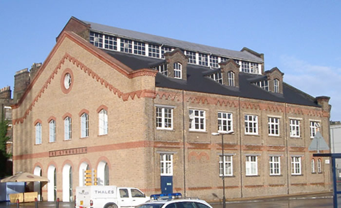 The German Gymnasium at King's Cross, London