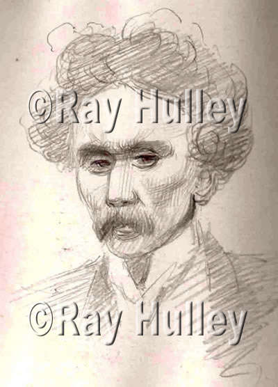 John Hulley – the only known picture of him