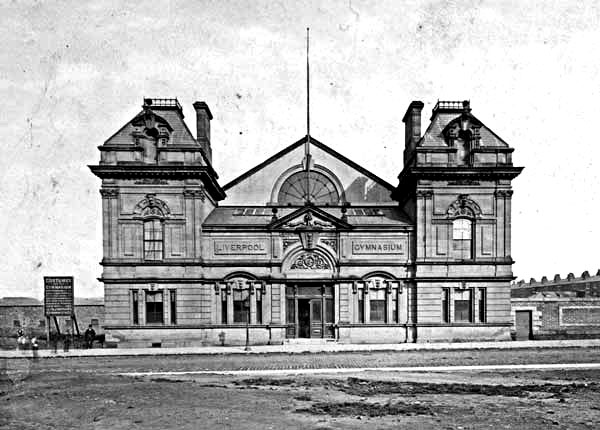 The Liverpool Gymnasium Myrtle Street