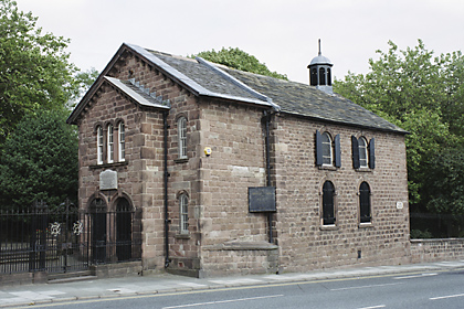 The Ancient Unitarian Chapel, Toxteth Park